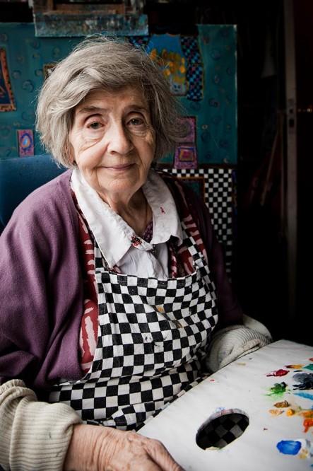 Dora Holzhandler Portrait